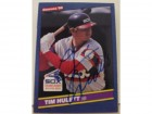 Tim Hulett Chicago White Sox Autographed 1986 Donruss Card #404. This item comes with a certificate of authenticity from Autograph-Sports.