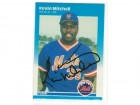 Kevin Mitchell New York Mets Autographed 1987 Fleer Card
