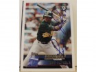 Jose Herrera Oakland Athletics Autographed 1996 Topps Card #338. This item comes with a certificate of authenticity from Autograph-Sports.