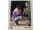 Alan Ashby Houston Astros Autographed 1989 Upper Deck Card #305. This item comes with a certificate of authenticity from Autograph-Sports.