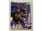Ryan Bowen Houston Astros Autographed 1992 Upper Deck Card #354. This item comes with a certificate of authenticity from Autograph-Sports.