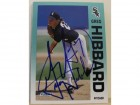 Greg Hibbard Chicago White Sox Autographed 1992 Fleer Card #83. This item comes with a certificate of authenticity from Autograph-Sports.