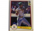 Rob Picciolo Oakland Athletics Autographed 1982 Donruss Card #465. This item comes with a certificate of authenticity from Autograph-Sports.