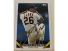 Steve Cooke Pittsburgh Pirates Autographed 1993 Topps #716. This item comes with a certificate of authenticity from Autograph-Sports.