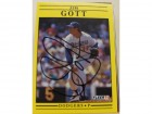 Jim Gott Los Angeles Dodgers Autographed 1991 Fleer Card #200. This item comes with a certificate of authenticity from Autograph-Sports.