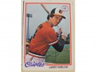 Larry Harlow Baltimore Orioles Autographed 1978 Topps Card #543. This item comes with a certificate of authenticity from Autograph-Sports.