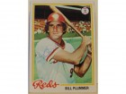 Bill Plummer Cincinnati Reds Autographed 1978 Topps Card #106. This item comes with a certificate of authenticity from Autograph-Sports.