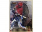 Reggie Taylor Philadelphia Phillies Autographed 1997 Bowmans Best Card #200. This item comes with a certificate of authenticity from Autograph-Sports.