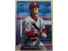 David Doster Philadelphia Phillies Autographed 1997 Donruss Card #162.  This item comes with a certificate of authenticity from Autograph-Sports.