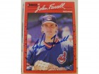 John Farrell Cleveland Indians Autographed 1990 Donruss Card #232. This item comes with a certificate of authenticity from Autograph-Sports.