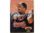 Keith Mitchell Atlanta Braves Autographed 1992 Stadium Club Card #551.  This item comes with a certificate of authenticity from Autograph-Sports.