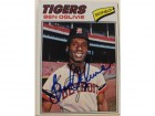 Ben Oglivie Detroit Tigers Autographed 1977 Topps Card #122. This item comes with a certificate of authenticity from Autograph-Sports.