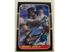 Bruce Fields Detroit Tigers Autographed 1987 Donruss Card #47. This item comes with a certificate of authenticity from Autograph-Sports.