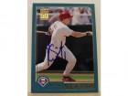Kevin Sefcik Philadelphia Phillies Autographed 2001 Topps Card #539. This item comes with a certificate of authenticity from Autograph-Sports.