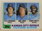 Darryl Motley Kansas City Royals Autographed 1982 Topps Card #471. This item comes with a certificate of authenticity from Autograph-Sports.