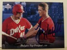 Todd Hollandsworth Los Angeles Dodgers Autographed 1995 Upper Deck Top Prospects Card #10. This item comes with a certificate of authenticity from Autograph-Sports.