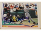 Mike Lansing Montreal Expos Autographed 1994 Topps Card #287. This item comes with a certificate of authenticity from Autograph-Sports.