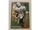 Jarvis Williams Miami Dolphins Autographed 1992 Topps Card #538. This item comes with a certificate of authenticity from Autograph-Sports.