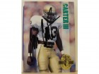 Tom Carter III Notre Dame Fighting Irish Autographed 1993 Classic 4-Sport Card #154. This item comes with a certificate of authenticity from Autograph-Sports.