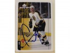 Cameron Mann Boston Bruins Autographed 1998-99 UD MVP Card #11. This item comes with a certificate of authenticity from Autograph-Sports.