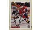 Dino Ciccarelli Washington Captials Autographed 1991-92 Upper Deck Card