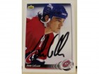John LeClair Montreal Canadiens Autographed 1992-93 Upper Deck Card
