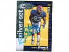 Andre Reed Buffalo Bills Autographed 1995 Upper Deck Collectors Choice Silver Crash Card