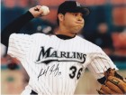 Anibal Sanchez Signed - Autographed Florida Marlins 8x10 Photo
