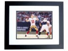 Alex Smith Signed - Autographed San Francisco 49ers 8x10 inch Photo BLACK CUSTOM FRAME - Guaranteed to pass PSA or JSA
