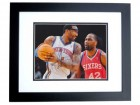 Amar'e Stoudemire Signed - Autographed New York Knicks 8x10 inch Photo BLACK CUSTOM FRAME - Guaranteed to pass PSA or JSA - Amare Stoudemire