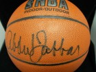 Kareem Abdul-Jabbar Signed Spalding Indoor/Outdoor Basketball