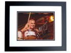 Adrian Young Signed - Autographed 8x10 NO DOUBT Drummer Photo BLACK CUSTOM FRAME - Guaranteed to pass PSA or JSA