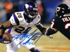 Adrian Peterson Autographed Vikings Signed 8x10 Football Photo Photo