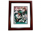 Adrian Murrell Signed - Autographed New York Jets 8x10 inch Photo MAHOGANY CUSTOM FRAME - Guaranteed to pass PSA or JSA