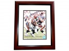 Akili Smith Signed - Autographed Cincinnati Bengals 8x10 inch Photo MAHOGANY CUSTOM FRAME - Guaranteed to pass PSA or JSA