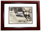 Al Arbour Signed - Autographed Detroit Red Wings 8x10 inch Photo MAHOGANY CUSTOM FRAME - Guaranteed to pass PSA or JSA