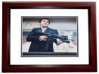 Al Pacino Signed - Autographed SCARFACE 11x14 inch Photo MAHOGANY CUSTOM FRAME - Guaranteed to pass PSA or JSA