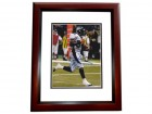 Al Wilson Signed - Autographed Denver Broncos 8x10 inch Photo MAHOGANY CUSTOM FRAME - Guaranteed to pass PSA or JSA