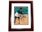 Alex Corretta Signed - Autographed Tennis 8x10 inch Photo MAHOGANY CUSTOM FRAME - Guaranteed to pass PSA or JSA
