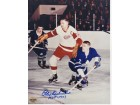 Alex Delvecchio Signed - Autographed Detroit Red Wings 8x10 inch Photo - Guaranteed to pass PSA or JSA with Hall of Fame Inscription