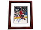 Alexei Zhamnov Signed - Autographed Chicago Blackhawks 8x10 inch Photo MAHOGANY CUSTOM FRAME - Guaranteed to pass PSA or JSA