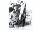 Rex Allen Signed B&W 8x10 Photo (Personalized - Hi Shirley)