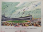 American League Baseball Club of New York Signed 16x20 Lithograph (35 Signatures in All - Bill Robinson, Eli Grba, Bobby Richardson, Gary Woslewski, Dick Schofield, Clete Boyer, Jim Spencer, Louis Tiant, Bobby Shantz, Norm Siebern, Billy Gardner, Jack Phi