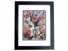 Andre Reed Signed - Autographed Buffalo Bills 8x10 inch Photo BLACK CUSTOM FRAME - Guaranteed to pass PSA or JSA