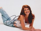 Angie Everhart Signed - Autographed 8x10 Sexy Photo - Guaranteed to pass PSA or JSA