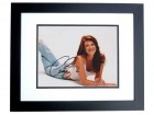 Angie Everhart Signed - Autographed 8x10 Sexy Photo BLACK CUSTOM FRAME - Guaranteed to pass PSA or JSA