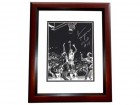Ann Meyers Signed - Autographed UCLA Bruins 8x10 inch Photo MAHOGANY CUSTOM FRAME - Guaranteed to pass PSA or JSA