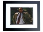Anthony Anderson Signed - Autographed Black-ish Actor 8x10 inch Photo BLACK CUSTOM FRAME - Guaranteed to pass PSA or JSA