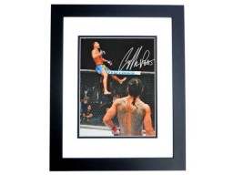 Anthony Pettis Signed - Autographed UFC Champion Fighter 11x14 inch Photo BLACK CUSTOM FRAME - Guaranteed to pass PSA or JSA