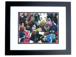 Antwaan Randle El Autographed Pittsburgh Steelers 8x10 Photo BLACK CUSTOM FRAME